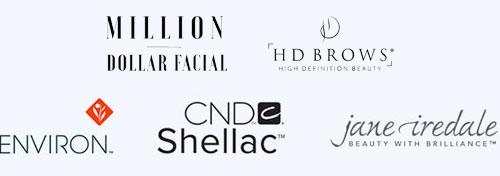 Million Dollar Facial, HD Brows, Environ, CND Shellac, Jane Iredale Beauty with Brilliance
